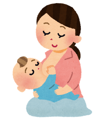 赤ちゃん、授乳