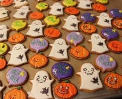 ハロウィン、アイシングクッキー