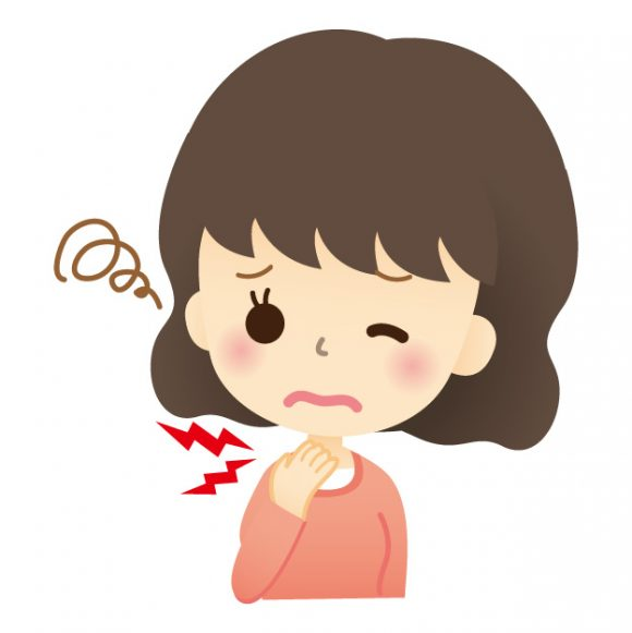 喉の痛み、イガイガする