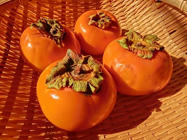 柿、秋の味覚