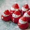クリスマスの簡単デコレーション!いちごサンタ・バラなどの作り方