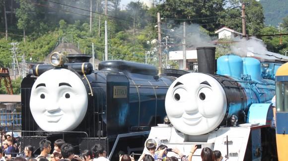 大井川鉄道、トーマス列車、千頭駅、トーマス、ヒロ