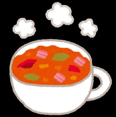 野菜スープ、ミネストローネ