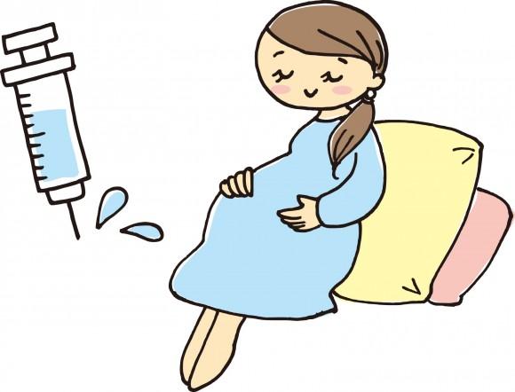 妊娠、妊婦、予防接種、ワクチン、注射