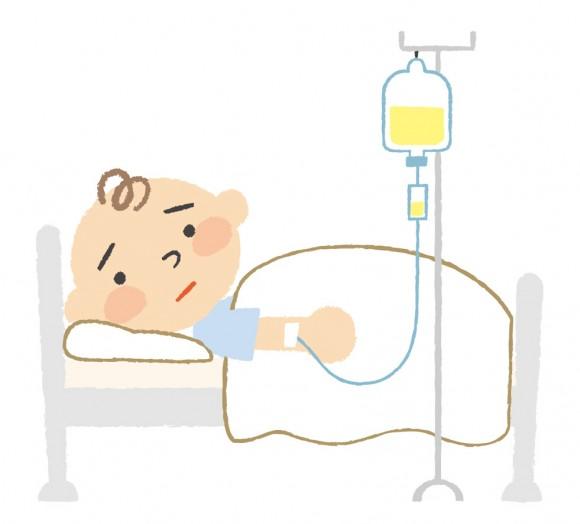 赤ちゃん、子供、病気