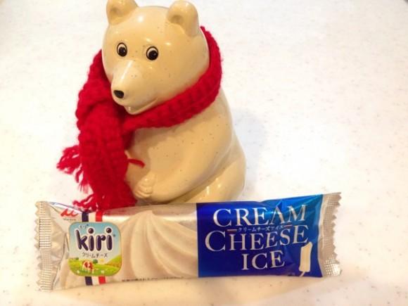 キリクリームチーズアイス
