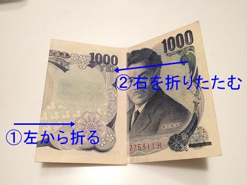 お金、お札、折り方、マナー