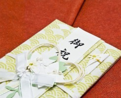 祝儀袋、表書き、短冊