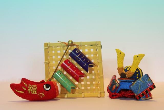 鯉のぼり、鎧兜、五月人形、端午の節句