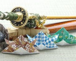 端午の節句、こどもの日、兜、折り紙