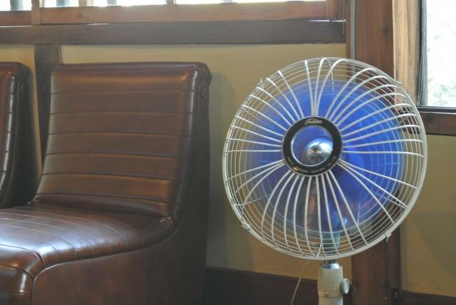扇風機、レトロ