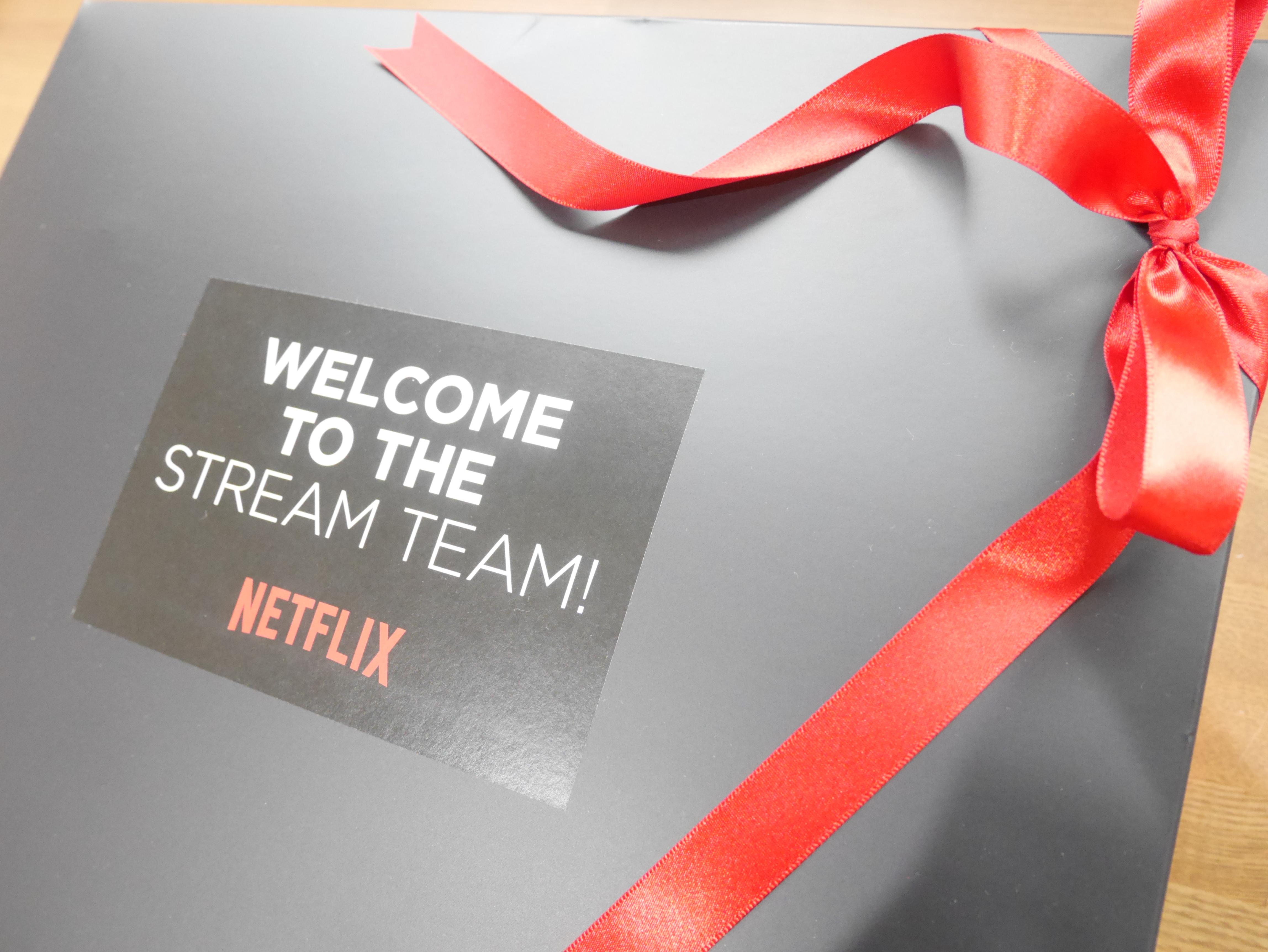 ネットフリックス、Netflix、ネトフリ、ストリームチーム